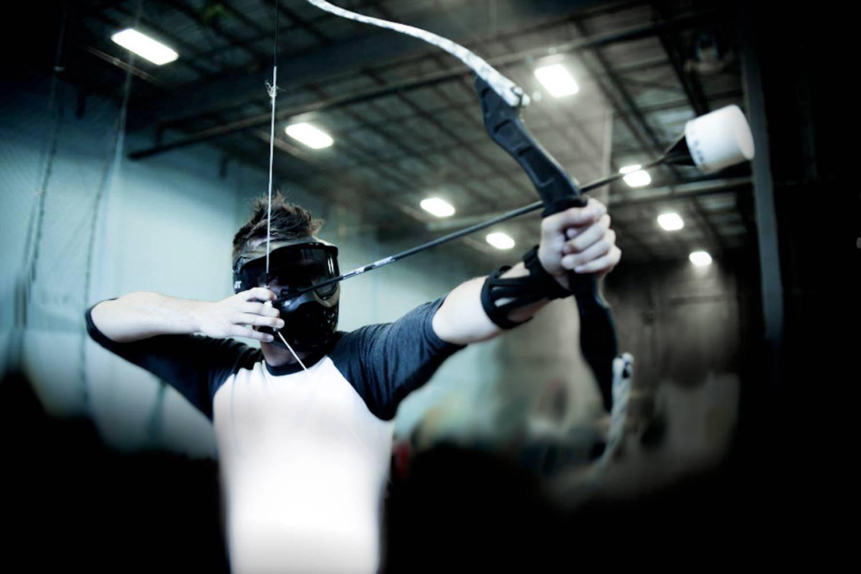 de blaauwe arena wageningen archery tag